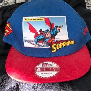9Fifty New Era SUPERMAN SNAPBACK!